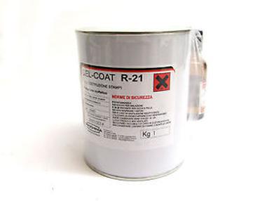 Gel Coat R21 Rosso per Stampi Kg 5